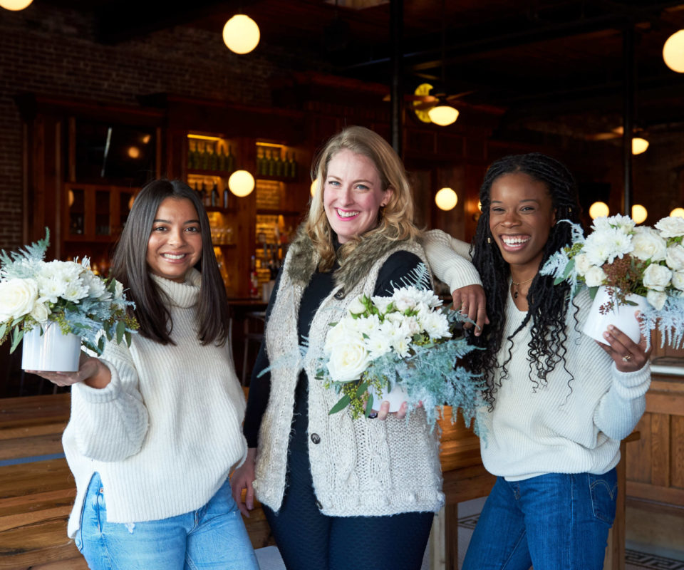 Virtual Holiday Florals benefitting The Hurley School
