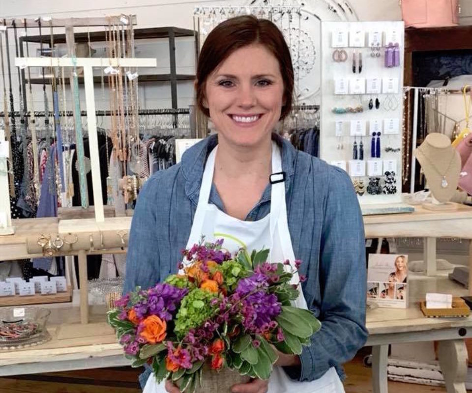 Valentine's Day Flower Workshop by Alice's Table