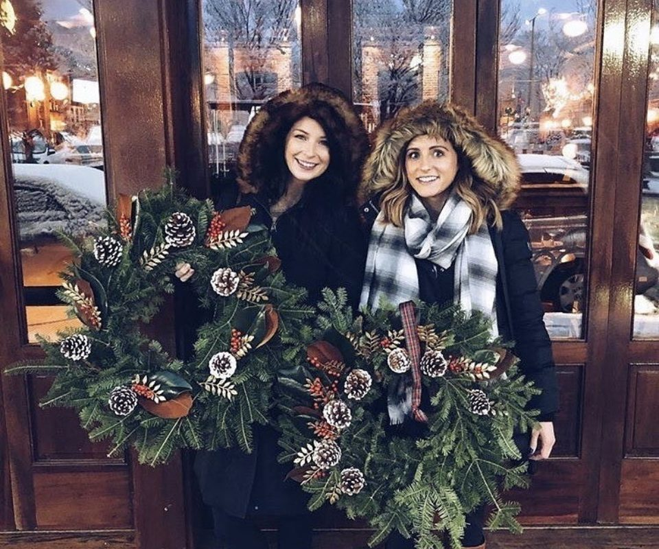 ring in the holidays with a wreath making event at nordstrom san francisco centre - Nordstrom Christmas Eve Hours
