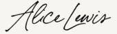 Photo of a signature
