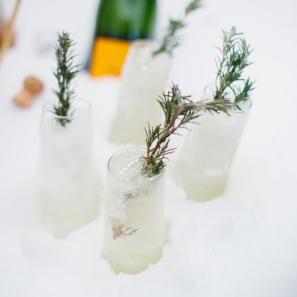 Bubbly Juniper Berry Cocktail