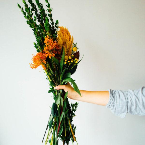 Autumn-Inspired Floral Arrangement