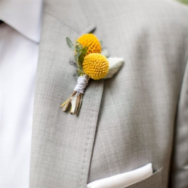 Floral Boutonnieres For Every Style
