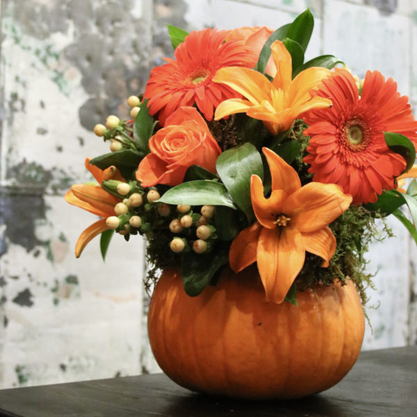 Our Fall Obsession: Pumpkin Vase Arrangements