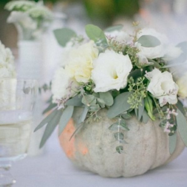 DIY Pumpkin Vase Centerpieces to Spruce Up Your Fall Wedding