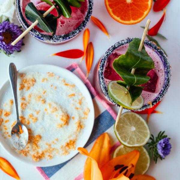 Hibiscus Aperol Margarita