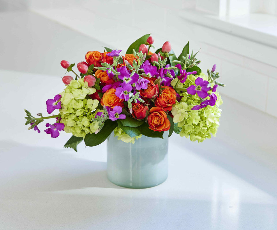 Bright Blooms with Alice's Table