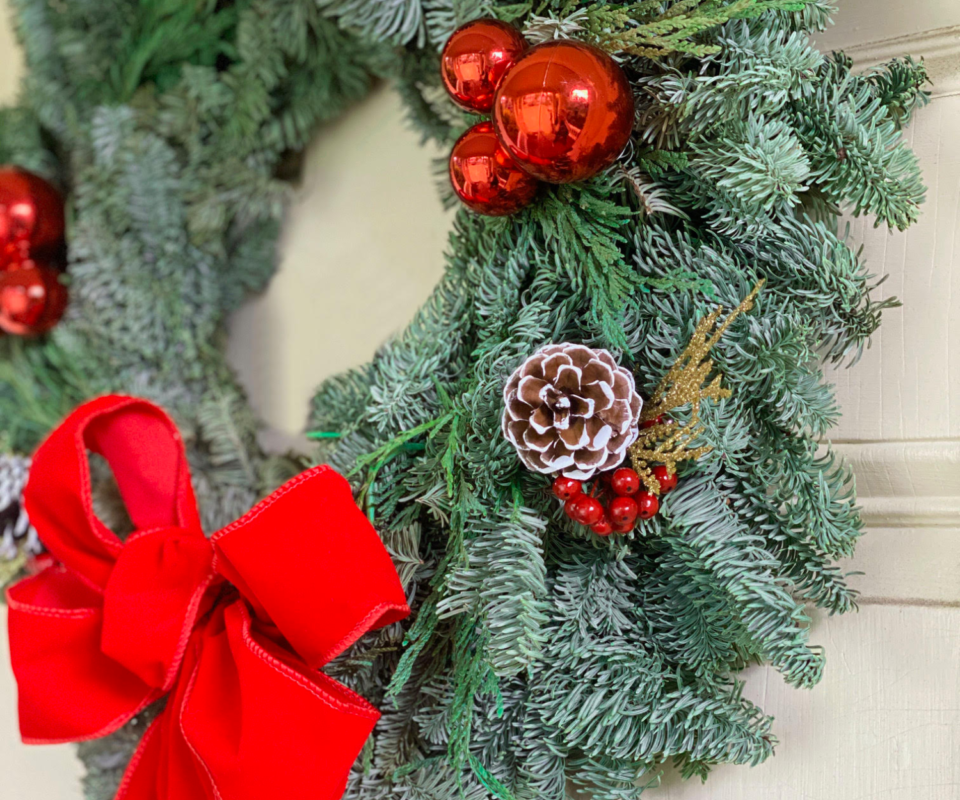 Deck the Halls! Holiday Wreath Making with Alice's Table