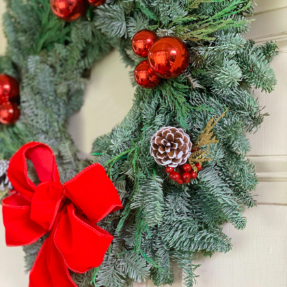 Virtual Kids Holiday Wreath Masterclass with Alice!